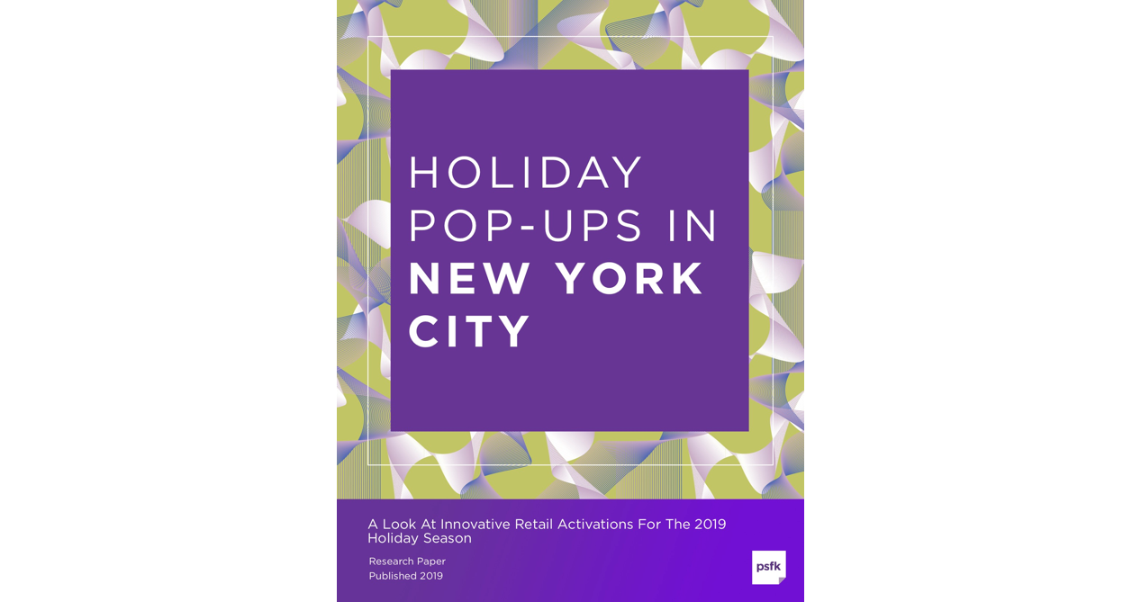 Holiday Pop-Ups In New York City