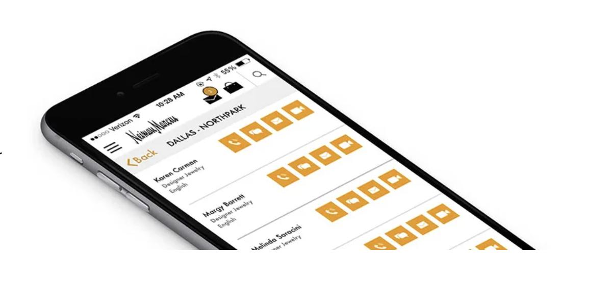 Neiman Marcus elevates CX with Clienteling app