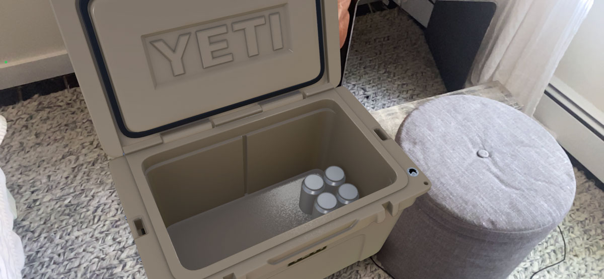 Yeti Customers can Visualize 50 Products IRL with Web-Based AR