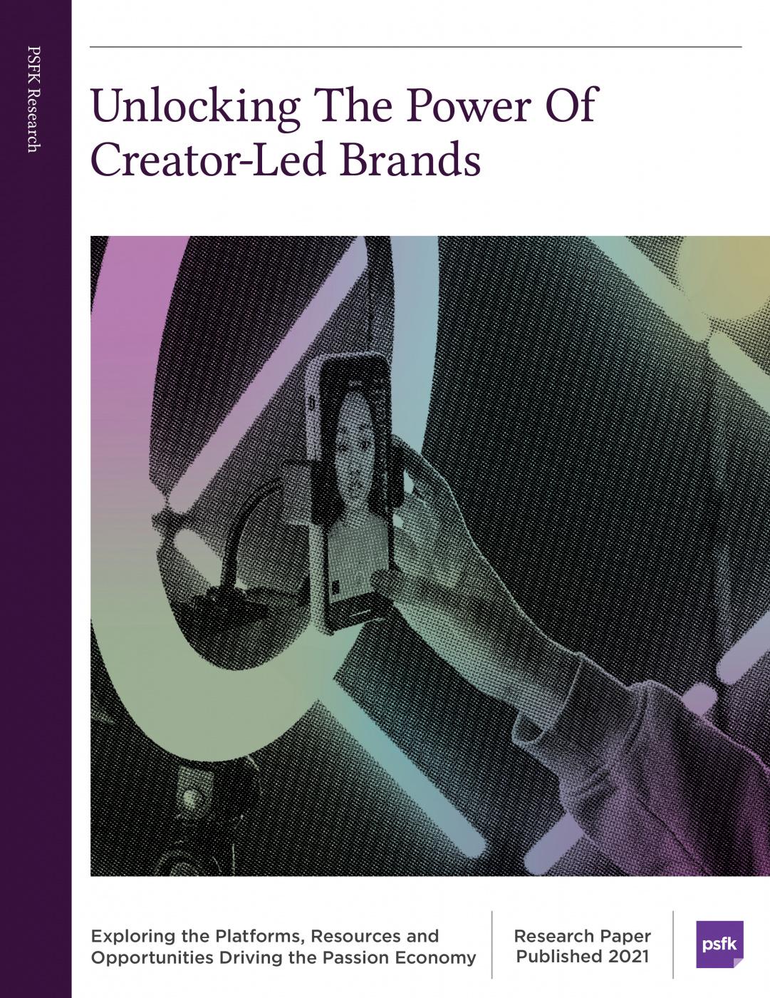 Unlocking the Power of Creator Led Brands