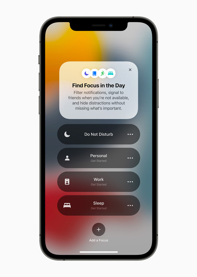 Apple's Focus Tool Targets Mental Wellbeing With Single-Message Summaries