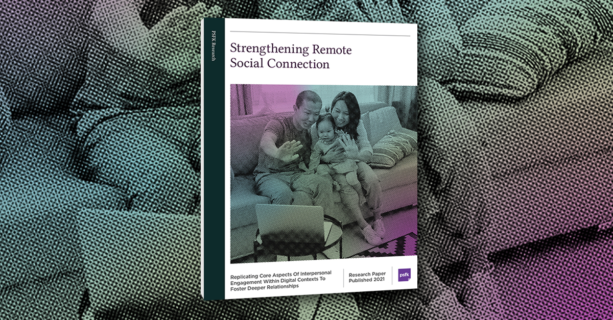Strengthening Remote Social Connection