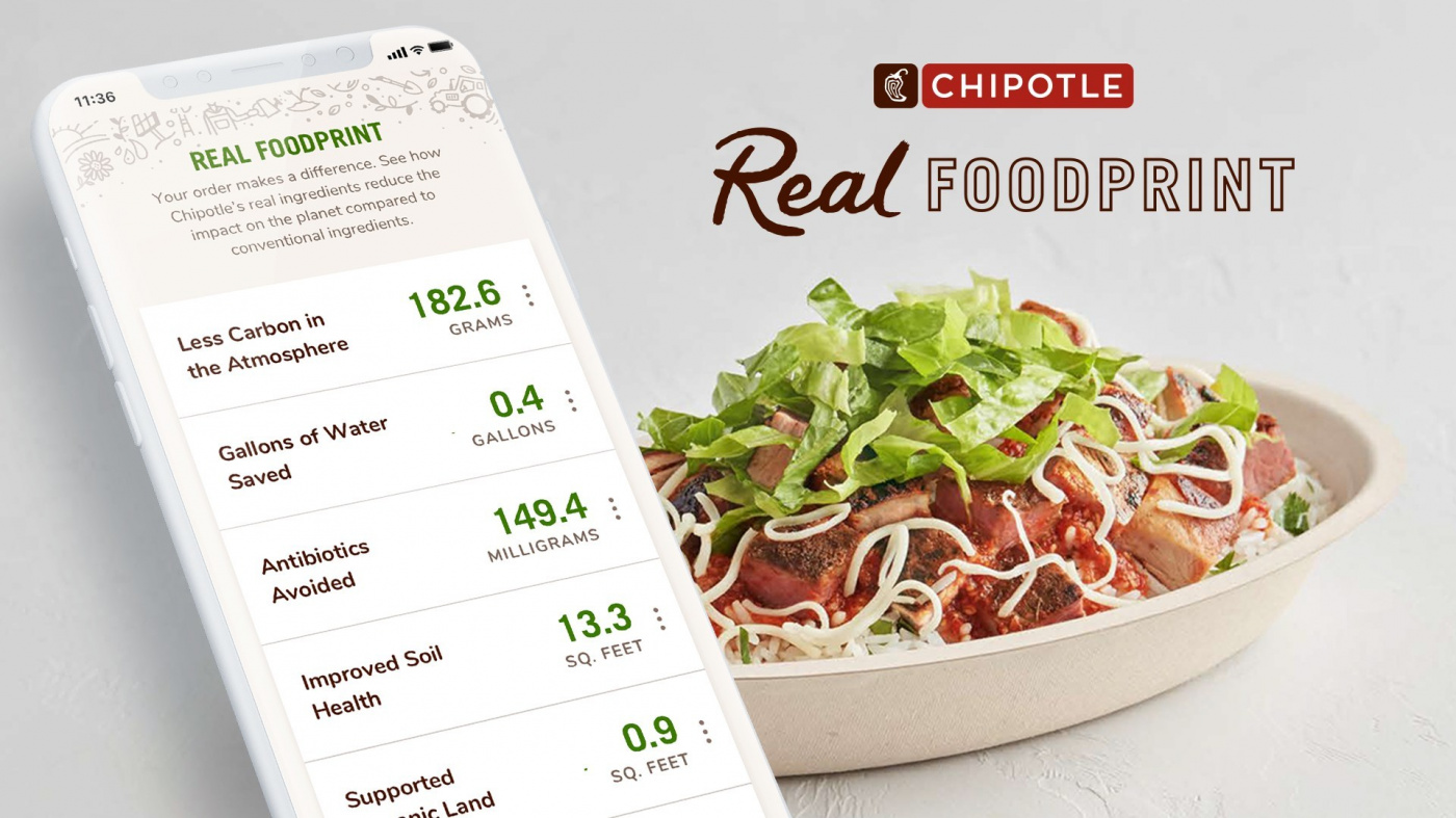 """Chipotle's Environmental Calculator Lets Customers Know Their Order's """"Foodprint"""""""