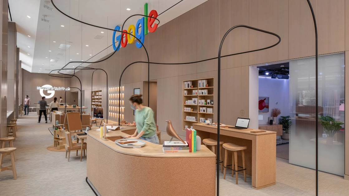 Google's High-Touch NYC Flagship Takes A Show & Tell Approach To Retail